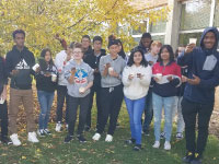 Columbia Heights Art Students Harvest Clay in Blooming Heights