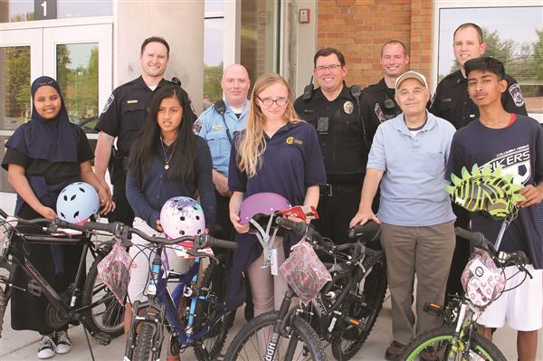 Seven Students Receive Donated Bikes