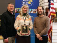 Blooming Heights Edible Schoolyard & Outdoor Classroom Receives State Recognition
