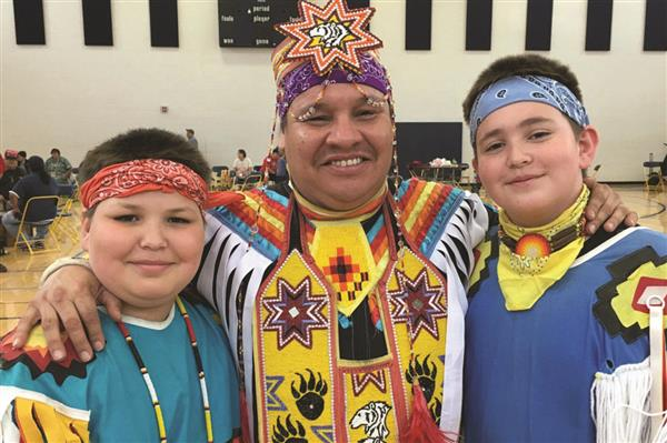 District Hosts Successful Pow Wow